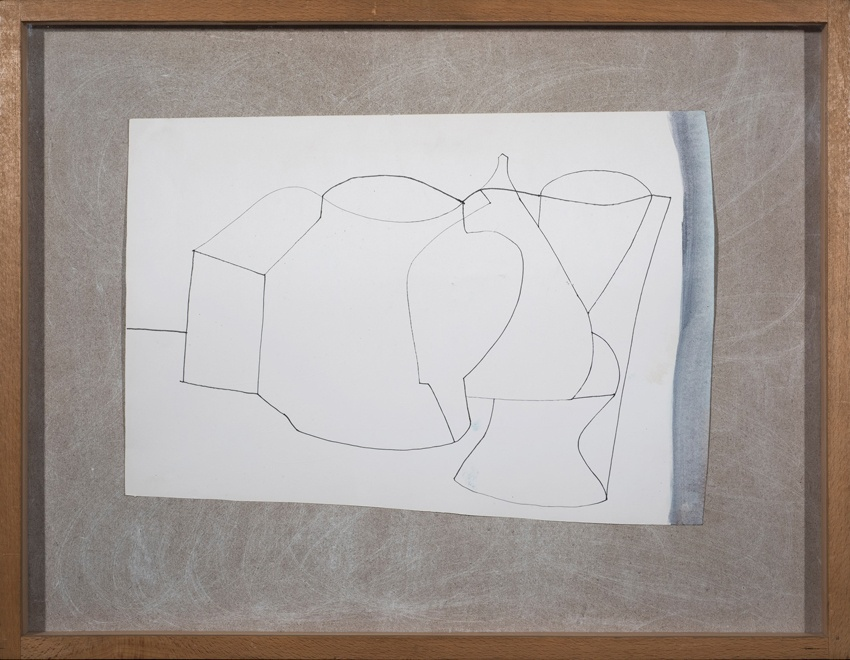 Ben Nicholson, Sculptured forms two, 1978
