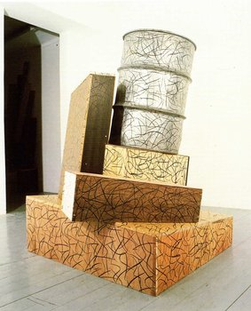 Sculpture of the Eighties (Edward Allington, Tony Cragg, Julian Opie, Alison Wilding)