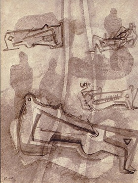 <span class=&#34;artist&#34;><strong>Henry Moore</strong></span>, <span class=&#34;title&#34;><em>Reclining figures</em>, 1931</span>