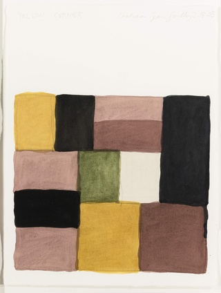 Sean Scully, Yellow Corner, 2005