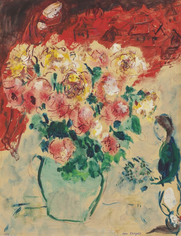 <span class=&#34;artist&#34;><strong>Marc Chagall</strong></span>, <span class=&#34;title&#34;><em>Roses Rouges</em>, 1954</span>