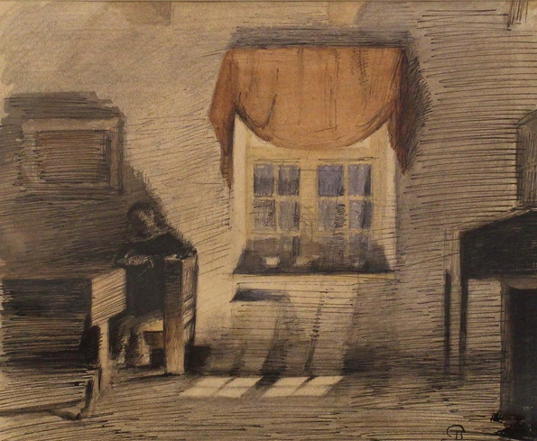 Peter Ilsted, Interior, c. 1903
