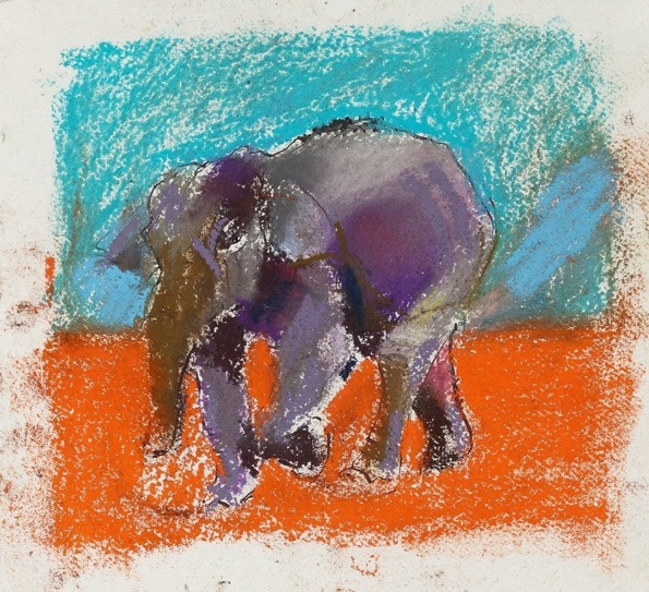 Paul Richards, Study for Elephant, 2010