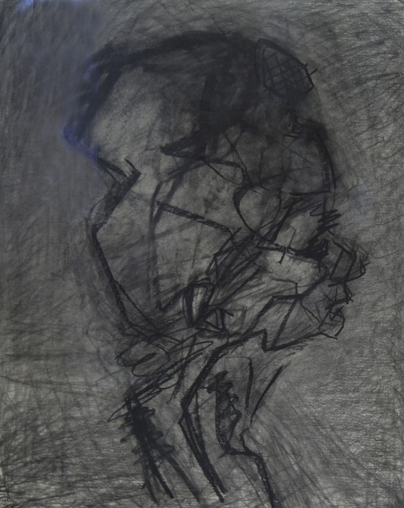 "<span class=""artist""><strong>Frank Auerbach</strong></span>, <span class=""title""><em>Head of Julia, profile</em>, 1989</span>"