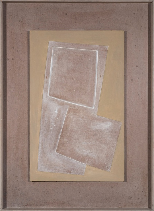 "<span class=""artist""><strong>Ben Nicholson</strong></span>, <span class=""title""><em>1971 (Two squares and very green)</em>, 1971</span>"