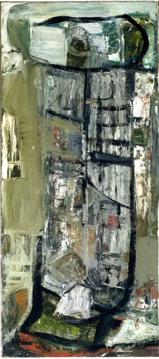 <span class=&#34;artist&#34;><strong>Peter Lanyon</strong></span>, <span class=&#34;title&#34;><em>Anticoli Snow</em>, c.1953</span>